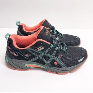 ASICS Gel-Venture 5 Running Shoe Black Size 7